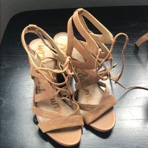 Sam Edelman lace up sandals.